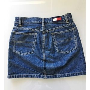 Tommy Hilfiger Vintage 90's Denim Mini Skirt